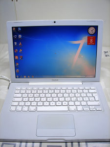 Laptop Apple Macbook White