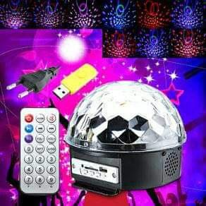 Bluetooth LED Kugla disko kugla