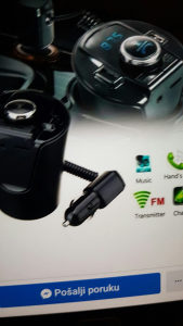 Bluetooth FM Transmiter Casa