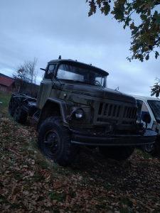 Zil 131 ruski tam 110 150 vojni kamion