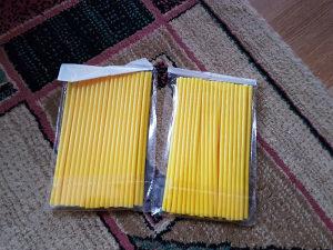 Slamke za žice, obloge, kros motori, žute