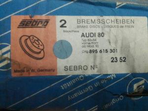 Diskovi Audi 80