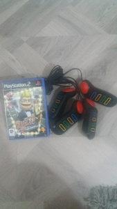 Igrice za Play Station 2 i dzojstik za odredjenu igricu