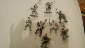 Figure vojnici vis.8cm