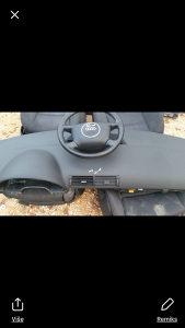 audi a4 instrument tabala i airbag