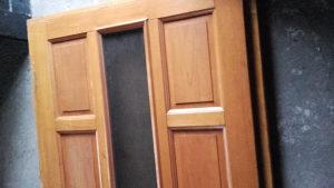 Vrata vanjska drvena