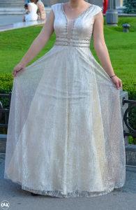 Zenska svecana duga maturska elegantna haljina