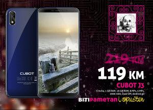 Cubot J3 | 1GB+16GB | 8+5 Mpx | Android 8.1 | Dual sim