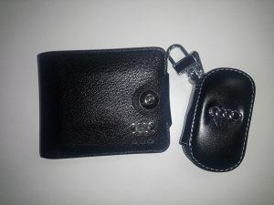 Set AUDI novcanik + torba za kljuc