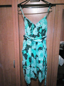 Predivna zelena ljetna haljina