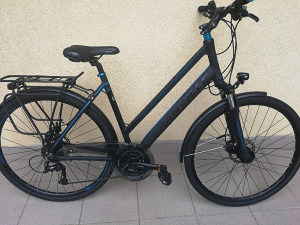 Bicikl gradski hidraulika koč.
