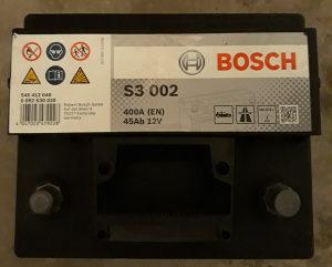 Akumulator Bosch 45 Ah.