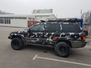Grand Cherokee Limmited 4.0 benz-plin off road