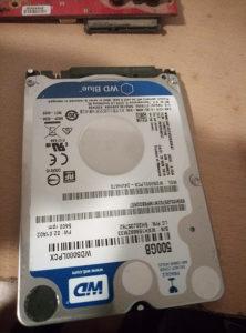 Hdd 500 gb za laptop 7 mm WD