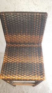 Rattan barske stolice