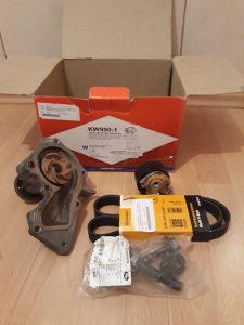 Ford/Mazda, Set Vodena pumpa, mikroremen, spaner
