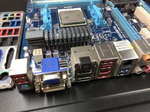 Ploca GIGABYTE / A8 3800 Quad Core CPU
