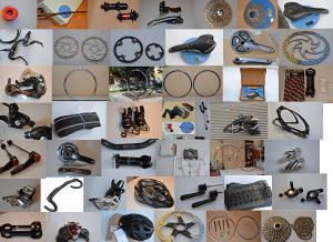 Hrpa dijelova za bicikle (SRAM, Shimano,DT SWISS...itd)