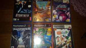 Ps2 ORGINAL Playstation 2 igre...