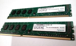 RAM memorija DDR3 4GB 1333 Apacer (2x2GB)