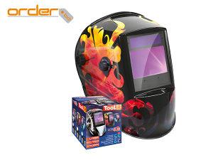 Maska Za Zavarivanje Gys LCD Zeus 5-9/9-13 G Fire
