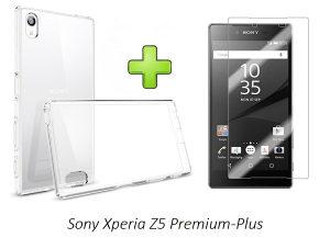 Sony Xperia Z5 Plus/Premium Maska i Zastitno Staklo