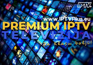 PREMIUM IPTV TELEVIZIJA - SMART TV ANDROID BOX KANALI