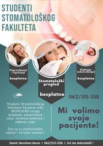 Besplatne stomatološke usluge