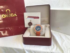Omega Seamaster Orange Ocean Chronometer NOV MODEL