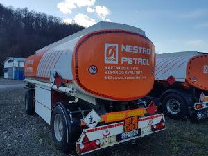 Cisterna kamionska prikolica za gorivo