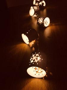 LED dekorativne lanterne - novogodisnji ukrasi