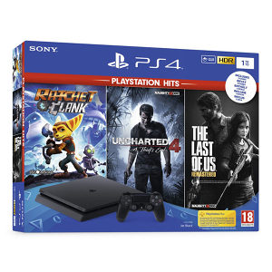 PlayStation 4 1TB Slim Unch.4/TheLastofUs/Ratchet