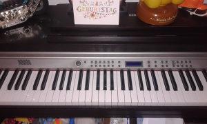 Klavir Korg c-520