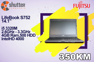 Fujitsu LifeBook S752 i5 3.Gen
