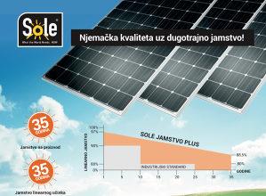 0.59KM/W Solarni panel SOLE paneli najniža cijena u BiH