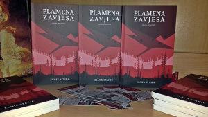 """Elmir Spahić, """"Plamena zavjesa"""" (pjesme, pripovijetke)"""