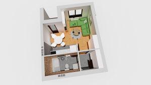 Stan 26,89 m2 Istočno Sarajevo Centar 3 Lukavica