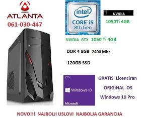 Nov PC gamer  i5 8400/gtx 1050Ti/120GB SSD/8GB DDR4