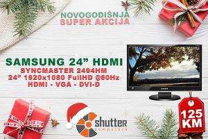 "SUPER AKCIJA - Samsung 2494HM FULL HD 24"" HDMI"