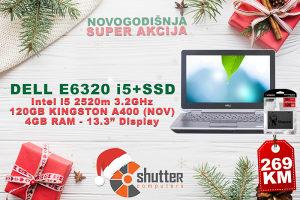 """SUPER AKCIJA - DELL LATITUDE E6320 i5 2.Gen 13.3"""" SSD"""