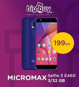 MICROMAX Selfie 3 E460 3/32 GB