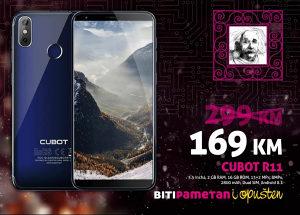 Cubot R11 | 2GB + 16GB | 13+2 Mpx | 2800 mAh | Dual sim