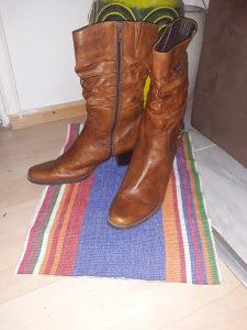 Zenske cizme kozne 39br.smede