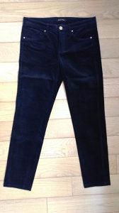 Ženske hlače Massimo Dutti pliš br. 36