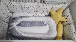 Gnijezdo za bebe i ogradice za krevetac