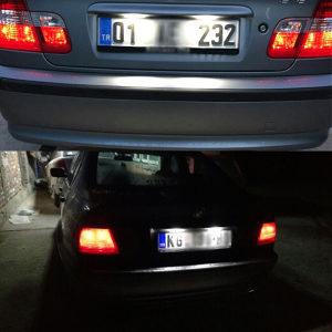 BMW 3 E46 LED moduli/osvjetljenje tablice-dva komada