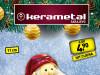 Djed Mraz ukras 11 cm