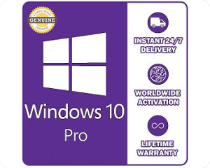 Microsoft WINDOWS 10 PRO - ORIGINALNA LICENCA / KEY