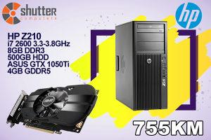 HP Z210 - i7 2.Gen - ASUS GTX 1050Ti