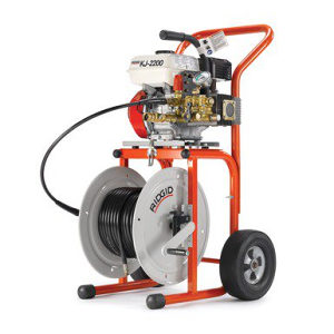 RIDGID KJ-2200-C za čišćenje odvoda vodom